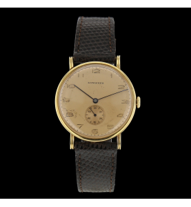 Vintage longines in yellow gold