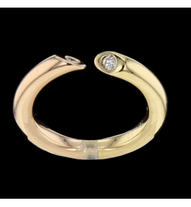 Ring in rose gold 750 / 18 carats