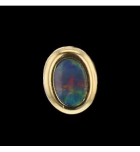 Opal yellow gold