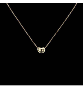 Necklace Tiffany&co beans yellow gold