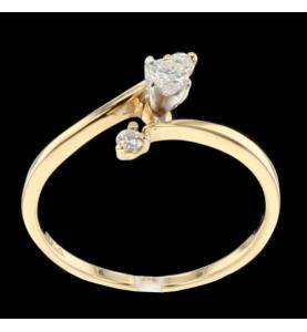 Ring Gelbgold Diamanten