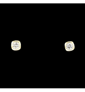 Nägel Gelbgold 2 x 0.25 Karat