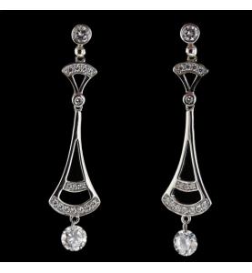 Ohrringe Fantasie Silber