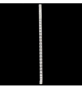 Bracelet Rivière Or gris 1.68 carats
