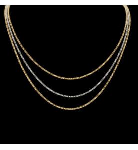 Halskette 3 Gold