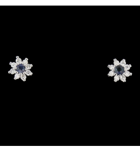 Earrings Grey gold