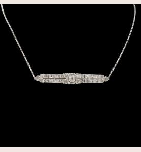 Halskette Design Kunst deco