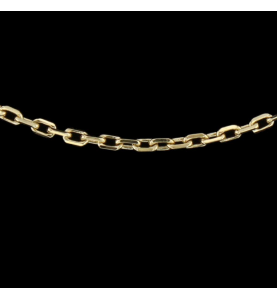 Collier Or jaune Taille 45 cm
