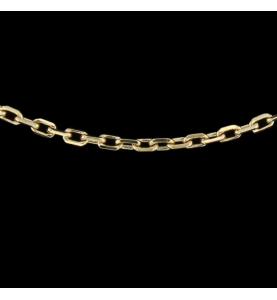 Halskette Gelbgold Größe 45 cm