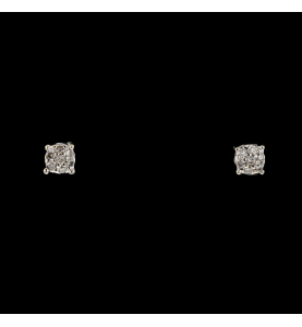 Buckles White Gold 0.28 carats