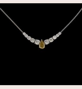 KREATION GBT Diamant Halskette