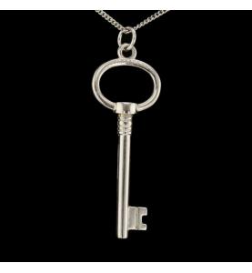 Pendentif Tiffany key Argent