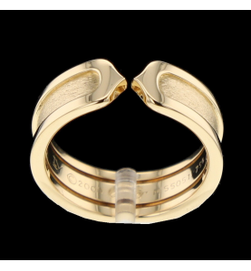 Cartier C yellow gold ring