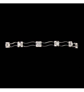 Bracelet White Gold 1.32 carats