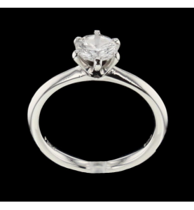 SOLITAIRE RING PLATIN