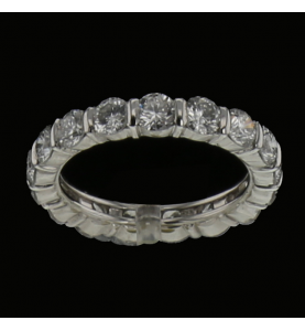 Eternity Ring 17 Diamonds