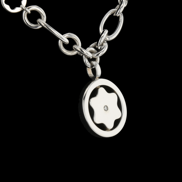 Montblanc necklace in silver 925