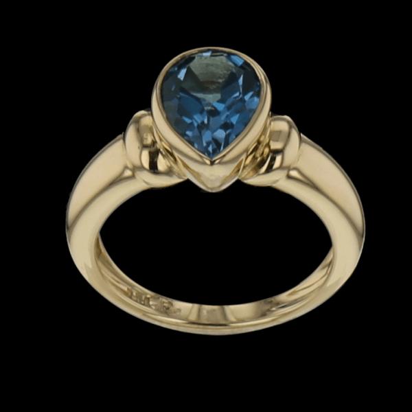 Ring aus Gelbgold 750