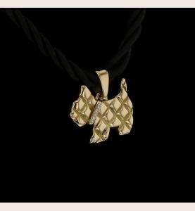 Collier pendentif en or...