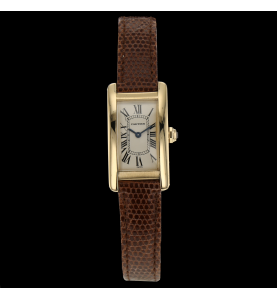 CARTIER TANK AMERICAIN OR...