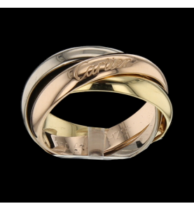 Cartier Trinity 3 gold ring