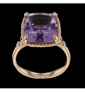Tiffany and co Amethyst ring