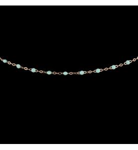 Gigi Clozeau rose gold necklace