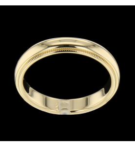Tiffany Classic Milgrain Wedding Band Ring