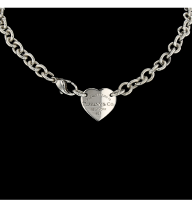 TIFFANY AND CO. SILVER NACKLACE