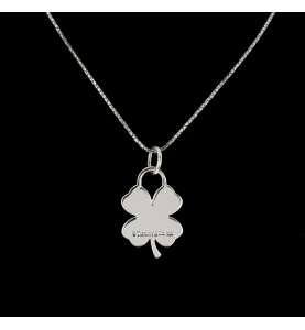 TIFFANY AND CO. SILVER PENDANT NECKLACE