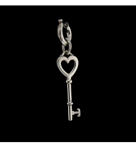 TIFFANY AND CO KEY PENDANT IN SILVER 925