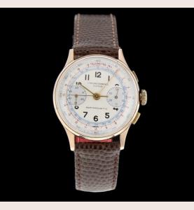 Chronographe Suisse Or jaune 750