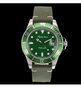 Mathy Vintage Automatic Green 42mm