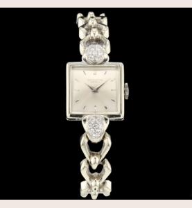 IWC Vintage Grey Gold and Diamonds