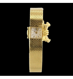 Jaeger lecoultre lady or jaune 750 / 18 carats.