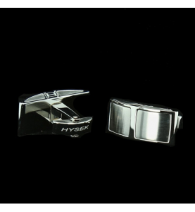 Cufflinks Steel H