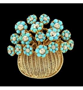 Broche Tiffany & Co. Zitternd