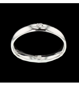 Ring gold grau
