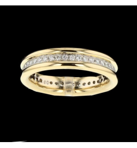 Eternity Ring 2 Gold and 44 Diamonds