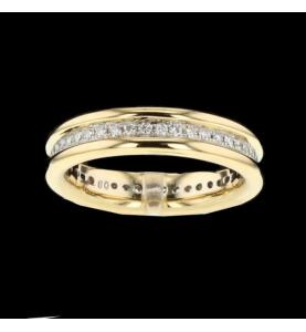 Eternity Ring 2 Gold und 44 Diamanten