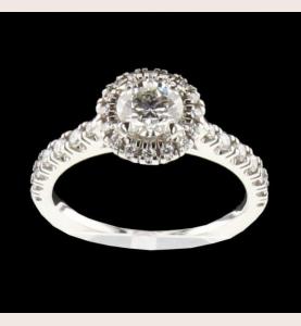 Cartier Destiny solitaire ring