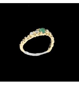 Gilbert Albert Ring Mimosa Emerald