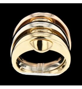 Bulgari 3 gold ring