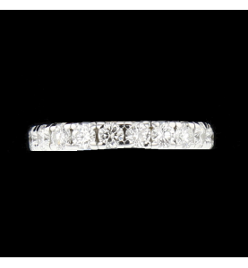 Complete tower white gold 3.15 carats