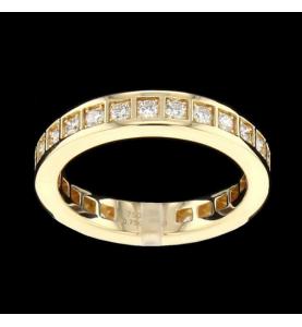 Eternity Ring 25 diamonds 0.75 cts
