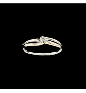 Solitaire Diamant 0.06 carats