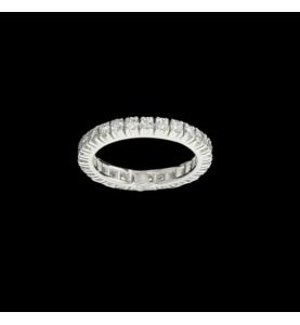 Eternity Ring 27 Diamant 0.83 Cts
