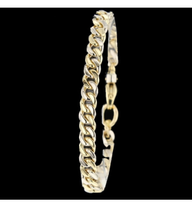 Bracelet 2 golds 18 Carats
