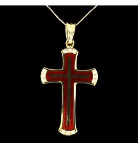 Fabergé Kreuz Anhänger