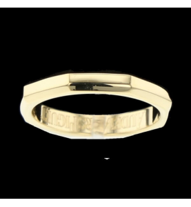 Royal Oak Ring Gelbgold